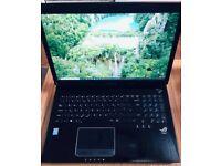 """ASUS ROG G750JS Gaming Laptop 17.3"""" i7-4710HQ 3.5GHz 16GB RAM 120SSD+320HDD GeForce GTX 870 - 6GB"""