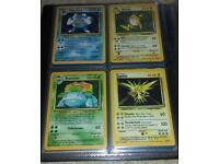 Pokemon rare 1 generation cards available
