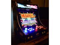 Custom made Marvel vs Capcom Bartop Arcade Machine PC Powered