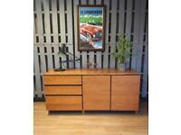 Vintage Retro Teak Sideboard Cupboard