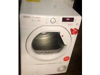 10kg load, A++ Rated HOOVER Heat Pump Condenser Dryer For Sale!!!