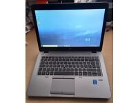 HP EliteBook Laptop, Intel Core i5 5th Gen Processor, 240GB SSD HDD, 8GB Ram