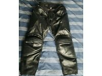 Pro Sport leather motorcycles trousers - Large