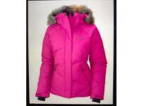 Women's ski or everyday dark pink Columbia jacker