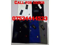 Mens Ralph Lauren Small Pony Polo's - WHOLESALE ONLY - FRED PERRY, Hugo boss, Stone Island