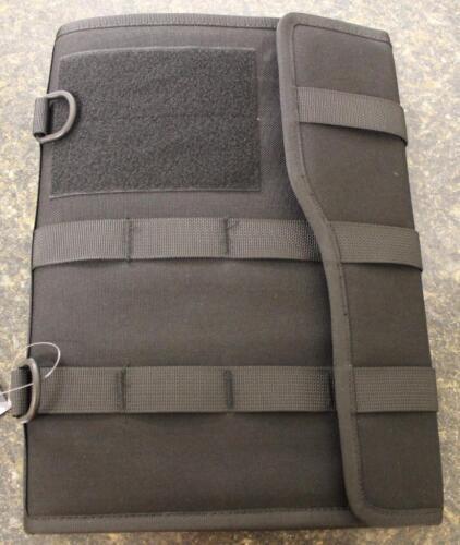 Gen Pro Black Tactical MOLLE Folio & Pad 1000D Nylon WORK SC