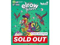 2 X Elrow Saturday Tickets Cheap