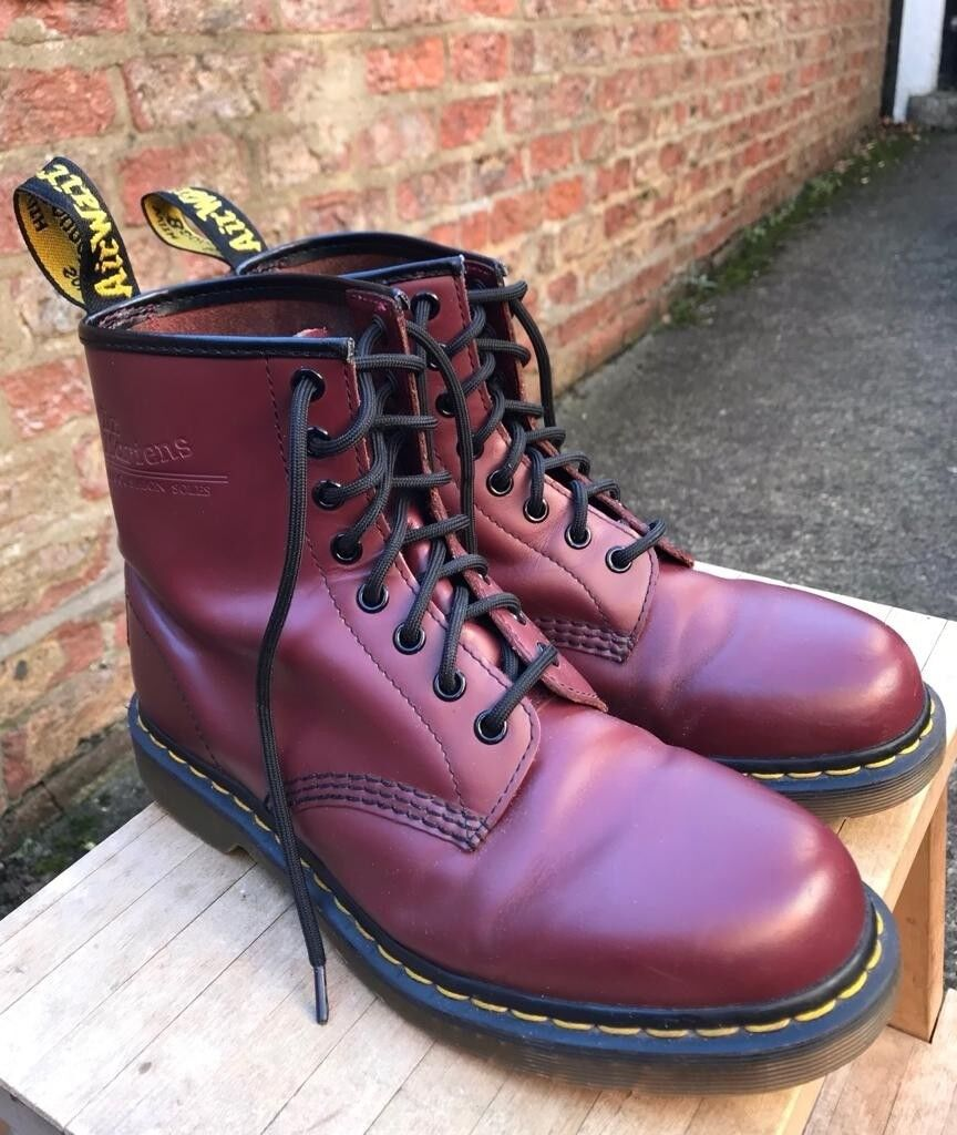 afdf5c30a0dcd Dr Martens 8 eyelet oxblood leather boots - size 7 - excellent condition,  reduced.   in York, North Yorkshire   Gumtree