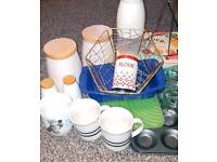 Mixed Household lot / bundle Kitchen Wares Mixed Items Used