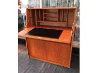 VINTAGE RETRO OFFICE DESK WRITING BUREAU REMPLOY