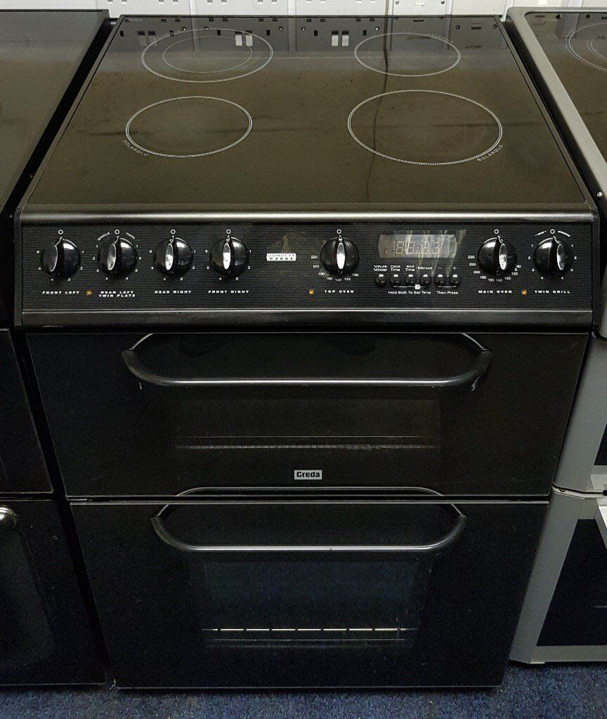 Creda 60cm Ceramic Cooker - 12 Months Warranty - £190
