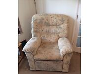GPlan 3 seat couch and 2 chairs including recliners in excellent condition. £450 o.n.o.