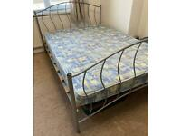 Double Bed with Foam Mattress
