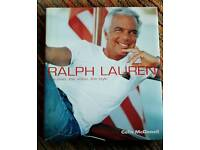 Ralph Lauren The Man The Vision The Style Hardback!