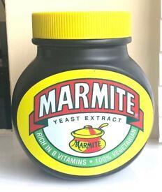 Marmite Money Jar