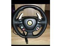 Xbox 360 Ferarri italia 458 steering wheel
