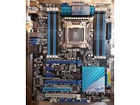 Asus P9X79 LGA 2011 DDR3 PC Motherboard (Bitcoin Payments Welcome)