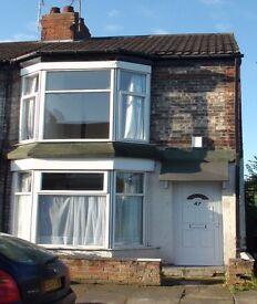 HOUSE TO RENT Beautiful Large 2 bedroom House Manvers Street (Newlands Av) Hull