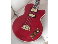 Epiphone Allen Woody Rumblekat Bass Wine Red Superb Condition - Can Post