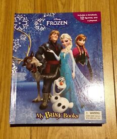 Disney Frozen Storybook, 12 Figurines and a Playmat