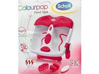 School Colourpop Foot Spa