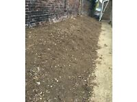 Topsoil (unbagged). Free to collector. Brighton Area
