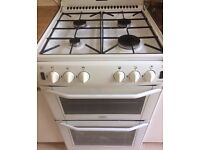 White Belling Enfield G552 Freestanding Gas Cooker
