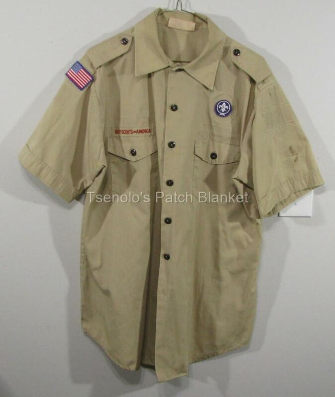 Boy Scout now Scouts BSA Uniform Shirt Size Adult Large SS FREE SHIPPING 085