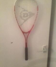 Dunlop squash racket in ex cond