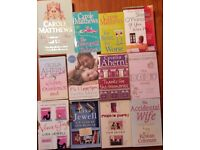 Books - Carole Matthews, Cecelia Ahern, Lisa Jewell, Rowan Coleman & Sheila O'Flanagan