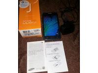 Samsung Galaxy J1 SM-J100H BLUE Smartphone Unlocked Boxed