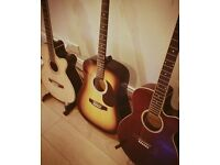 Stagg, semi acoustic, guitar