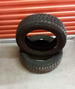 (H117) 2 Pneus Hiver - 2 Winter Tires 185-60-15 Goodyear 10/32