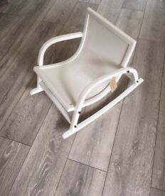 Child's rocking chair FOR SALE painted in Farrow and Ball