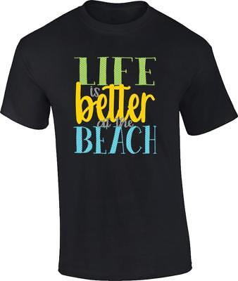 Life Is Better At The Beach T-Shirt Summer Vacation