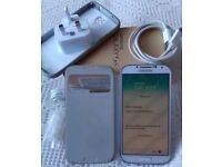 Samsung Galaxy S4 Phone White (Used) Boxed and SIM Free