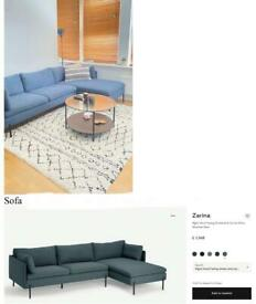 Moving sale! MADE sofa, ONLY 6 months old