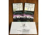 Electric Light Orchestra, 2x tickets 24/06/17