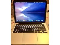 "Macbook Pro 13"" Retina (Early 2015) 8Gb RAM 256Gb SSD"