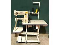 Juki Japan cylinder arm walking foot industrial sewing machine compound feed
