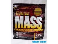 MUTANT MASS - muscle mass gainer The World's BEST Weight Gainer