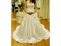 Sophia Tolli Blush wedding dress