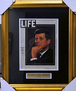 JOHN F. KENNEDY Framed LIFE MAGAZINE Nov 29 1963 One Week After Assassination