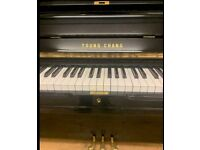 Young Chang U3 Black polyester| Belfast Pianos|free Delivery|| Belfast ||