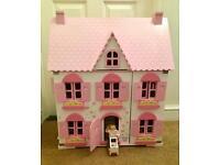 ELC Rosebud Cottage - Wooden Dolls House