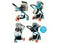 Cosatto Giggle 2 New Wave travel system