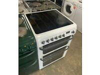 HOTPOINT WHITE 60CM ELECTRIC COOKER ONLY £180