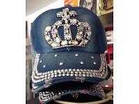 Diamanté Hats Brand New One Size