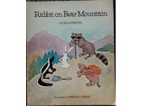Rabbit on Bear Mountain Books/book – post or collect