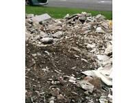 Free to collector concrete rubble hardcore